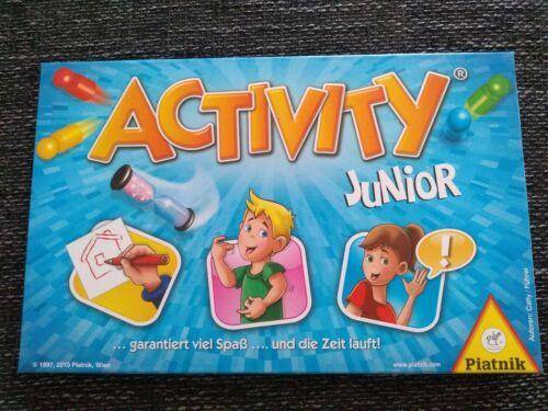 PIATNIK 601248 Activity Junior Gesellschaftsspiel - vollständig - Wie neu