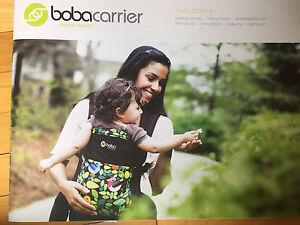 Boba baby and toddler carrier