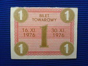 POLAND Communist - Gift Certificate and food stamps XI 1976. - Skierbieszów, Polska - POLAND Communist - Gift Certificate and food stamps XI 1976. - Skierbieszów, Polska