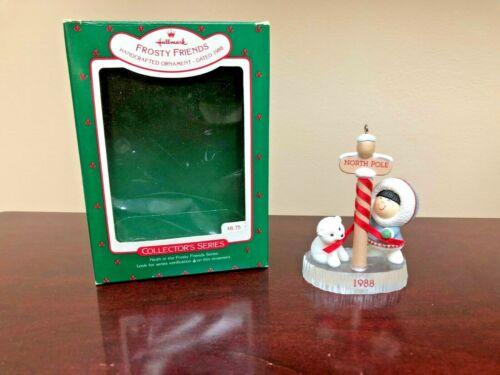 1988 Hallmark Ornament Frosty Friends  #9