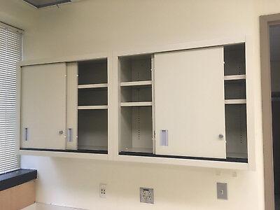 Kewaunee Lab Casework Overhead Cabinets Tan 35x30x13 D