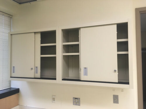 "Kewaunee Lab Casework Overhead Cabinets, Tan, 35""x30""x13"" D"