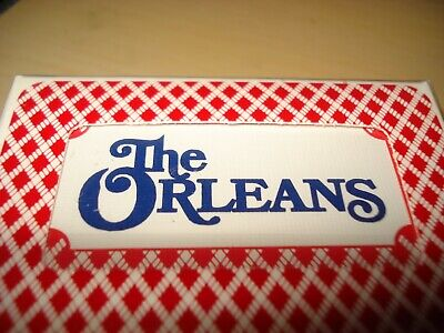 ORLEANS CASINO SEALED DECK PLAYING Cards BEE CLUB SPECIAL Las Vegas, Nevada