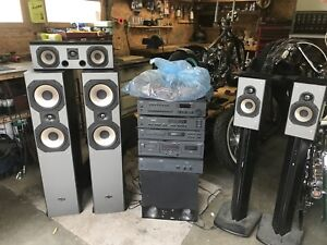 NAD Stereo System & Sound Stage Speakers