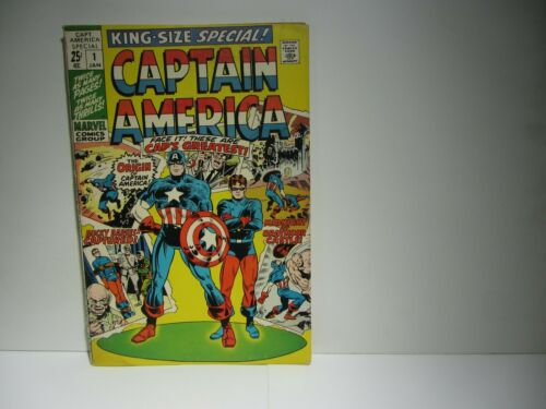 1970 CAPTAIN AMERICA KING SIZED SPECIAL #1
