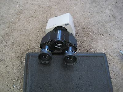 Nikon Microscope Binocular Head With Cfw15 Eye Piece Lens 15x - 141418