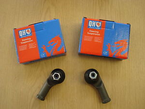 TRACK TIE ROD END PAIR for FORD FOCUS MK 1 - 1998 to 2005  - QH (Quinton Hazell)