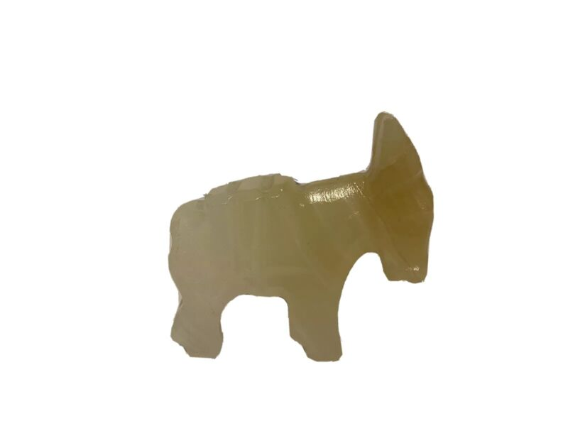 Stone Carved Donkey Mule Small