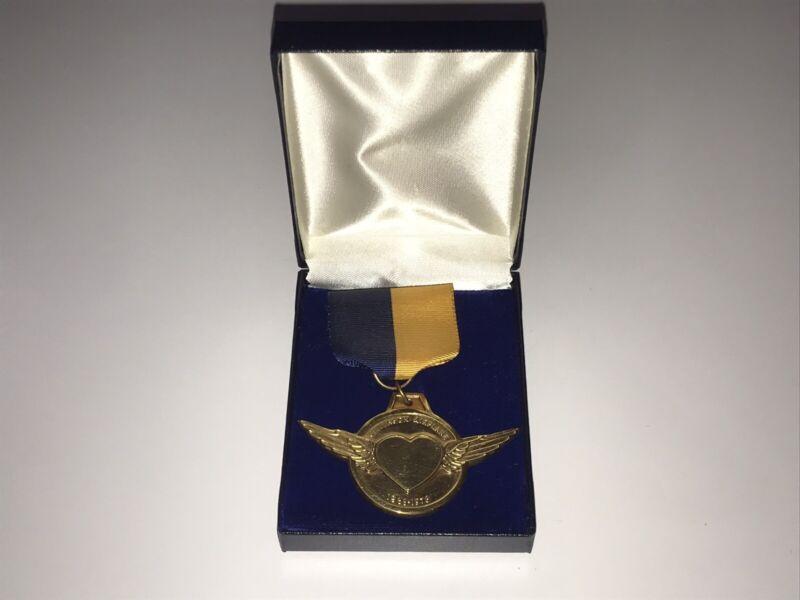 Jefferson Airplane Rare 1966-1976 Medal 10 Years Original 1977 Promo Grace Slick