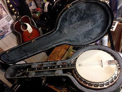 LUDWIG Kingston Tenor Banjo / Vintage Used / TKL Hard Case