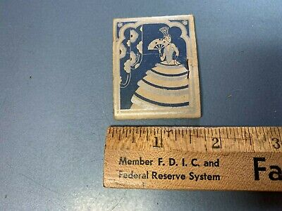 Vintage Star Brand Shoes Advertising Promo Needle & Thread Case