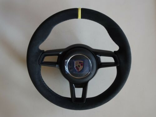 Porsche 997.2 Gt Rs  Stick Shift Blk  Alcantara Steering Wheel Y Top &  Airbag