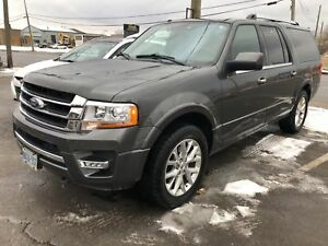 2017 Ford Expedition Max Limited| Navigation | Leather| Sunroof|
