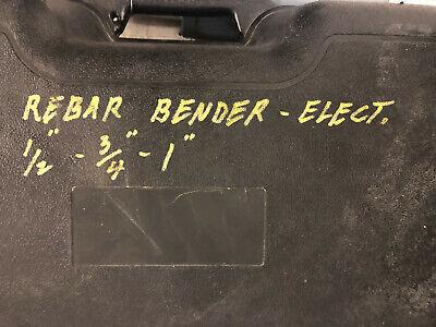 Used Benner Nawman Diamond 1 Electric Rebar Bender Straightener Dbr-25wh