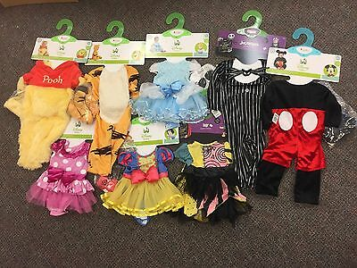 NWT Disguise Disney Baby Halloween Costumes Size 6-12 12-18 Month - 12 18 Month Halloween Costumes