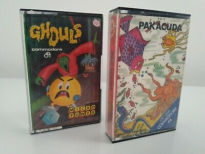 Commodore 64 - C64 - GHOULS & PAKACUDA - Tested