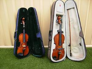 2 LOVELY VIOLINS in THEIR CASES  going Cheaply... Southern River Gosnells Area Preview