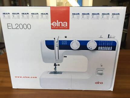 ELNA 40 Sewing Machine Sewing Machines Gumtree Australia Classy Elna 2000 Sewing Machine