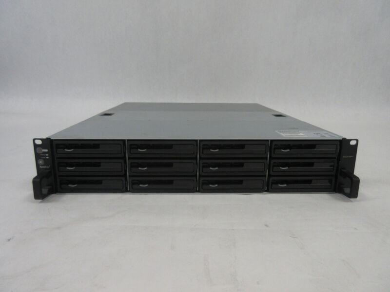 "Synology Rack Station RS2414RP+ Array, 12x 4TB 3.5"" HDD, WD40EFRX-68WT0N0*56"