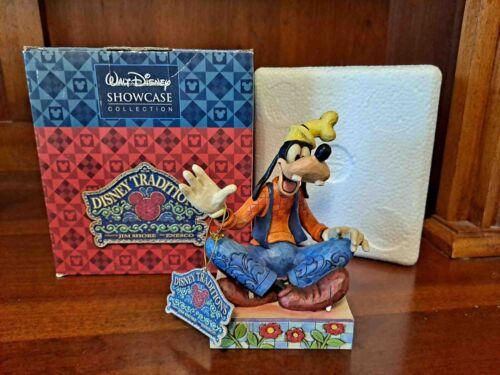 "Disney Showcase Collection Goofy ""Gawrsh"" Jim Shore Enesco #4011752"