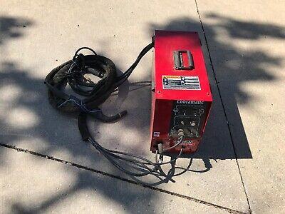 Lincoln Electric K2259 K2259-1 Cobramatic Gmaw Wire Feeder W Gun Hoses 2