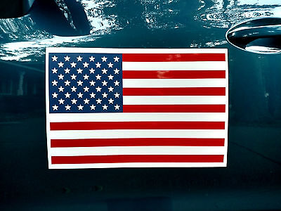 AMERICAN US FLAG 100% MAGNETIC SIGN - LARGER 12