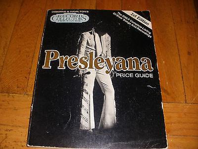 vintage Elvis Presley Presleyana records price guide  1st edition
