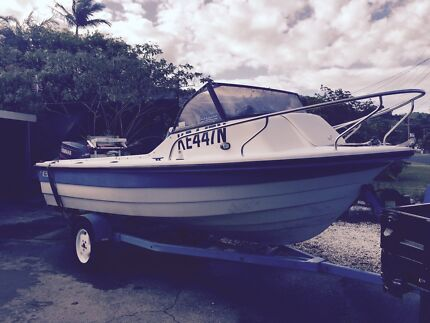 Milligan nipper 5.25m with a 90 2 stroke Yamaha engine  Coffs Harbour 2450 Coffs Harbour City Preview