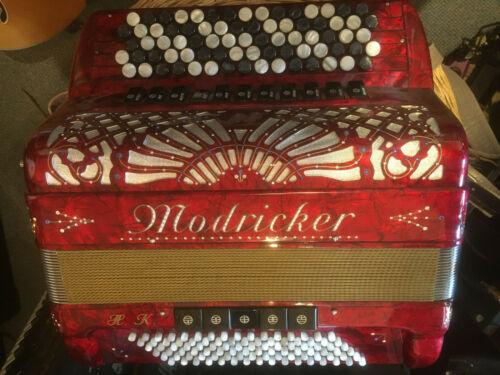 Knopf-Akkordeon Modricker Casotto Midi,handlich! weitere Bugari Hohner Scandalli