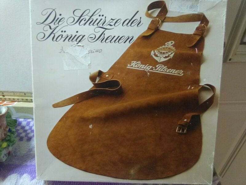 Konig Pilsener ® German Leather Barkeeper Apron
