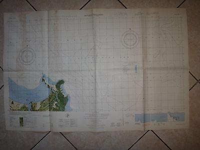 Vietnam War Color Photomap QUANG NGAI Province SOUTH CHINA SEA Sheet 6739 I N