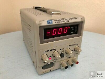 Gps-1850d Goodwill Gw Instek Single Channel Linear Dc Power Supply 18v 5a 90w