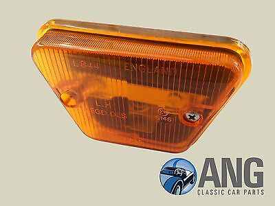 TRIUMPH TR6 LUCAS L844 FRONT LH AMBER INDICATOR LAMP ASSEMBLY 152769