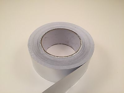 1.88 X 50 Yard Aluminum Foil Self Adhesive Tape - Heat Shield - Duct - 150