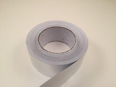 1.88 X 50 Yard Aluminum Foil Self Adhesive Tape - Heat Shield - Duct - 150