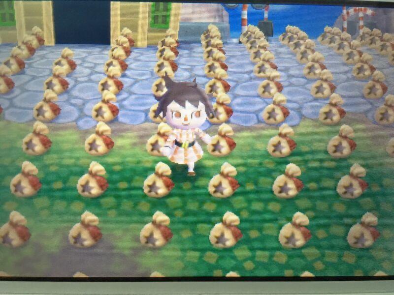 50 Million Bells, Golden Tools + 1 Furniture Set - Animal Crossing New Leaf