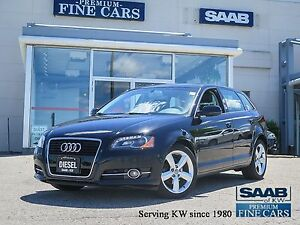 2013 Audi A3 TDI   Diesel  One Owner/NAVIGATION!