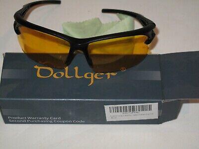 Dollger Night Vision Glasses Classic Retro Polarized Sports Driving (Dollger Sunglasses)