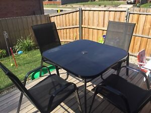 5 Piece Outdoor Setting Like New Latest Amart Model Sailor