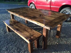 Refined harvest tables!