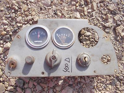 Farmall 400 450 Diesel Tractor Original Ih Ihc Dash Panel Gauges Switch