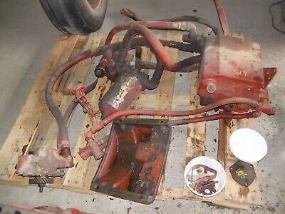 Farmall Super M Sm Mta Ih Tractor Live Hydraulic Pump Reservoir Control Rods
