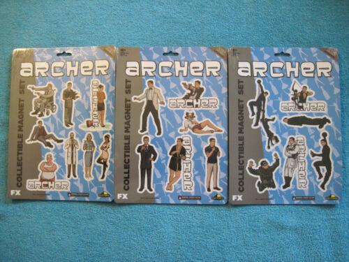 Archer TV series 3 sets of fridge magnets 20 magnets Factory Entertainment FX