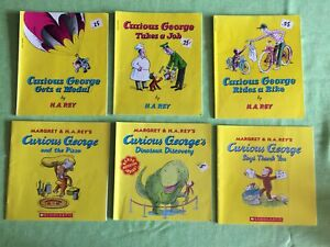 Curious George collection of six books