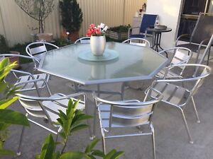 Outdoor Dining Setting Nine Pieces