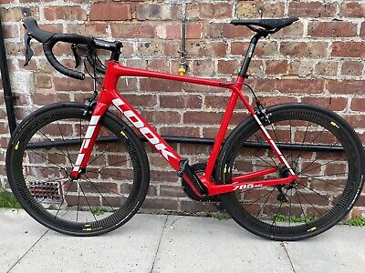 New Large Look 785 Huez + Mavic carbon - Specialized Road Bike With Giant Specs