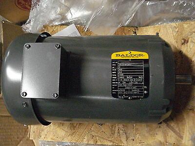 New Baldor Motor 36j231w726g1 3hp 1425rpm 145tc 525vac 50hz Tefc 3phase