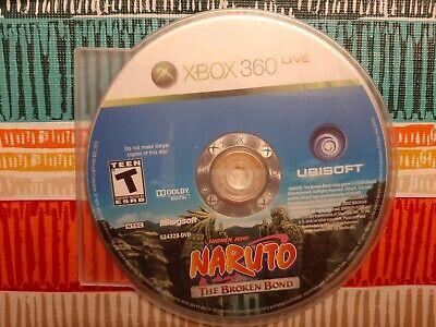 Naruto: The Broken Bond  for  MICROSOFT XBOX 360 * DISK ONLY, usado comprar usado  Enviando para Brazil