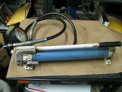 Hydraulic Hand Pump Otc With Gauge And Hose Usa Heavy Duty