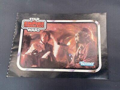 vintage Star Wars Empire Strikes Back Kenner 1980s Figure & Vehicle Catalog